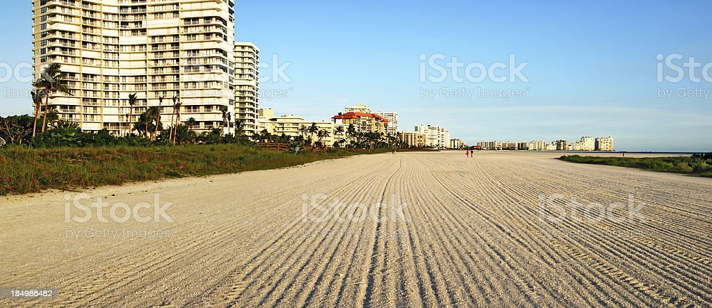 marco island beach stock photo