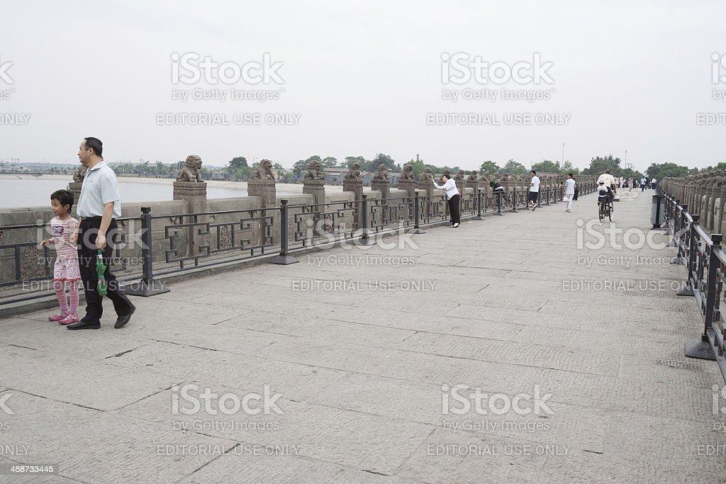 Marco Polo Bridge in Beijing royalty-free stock photo