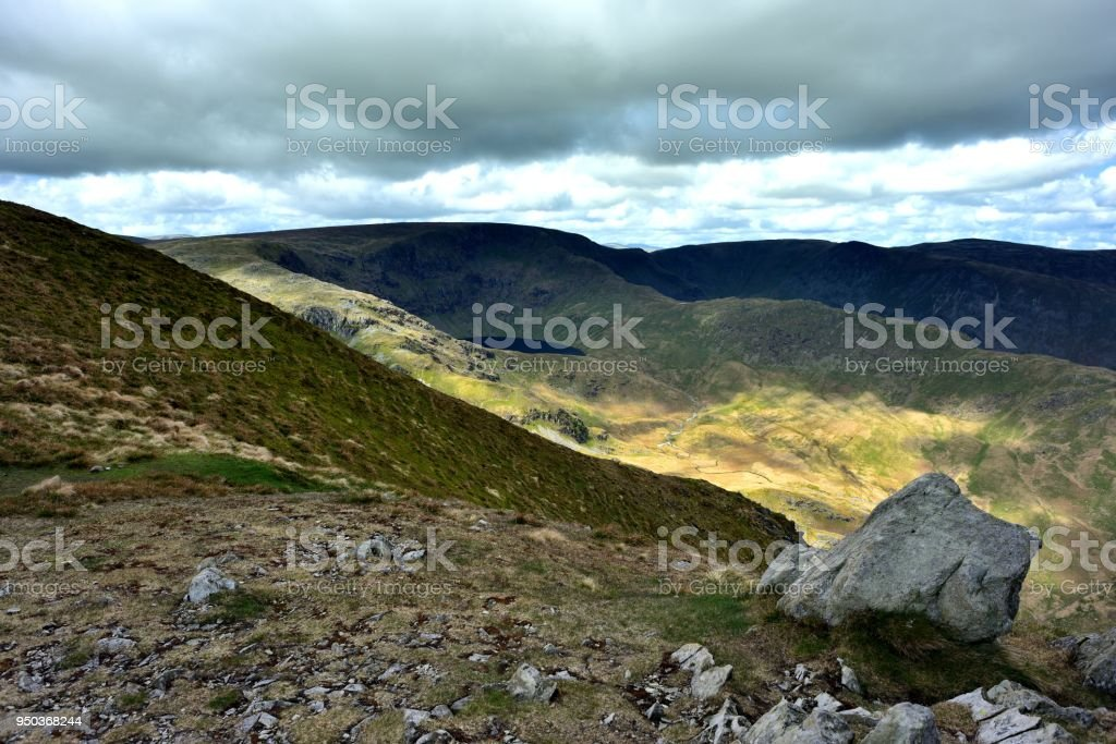 Mardale waters below High Stree stock photo