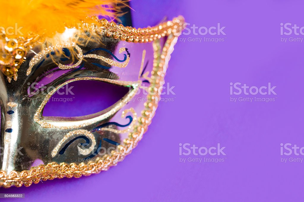 2d044652d9bd Mardi Gras Background Purple Gold Masquerade Mask Stock Photo & More ...