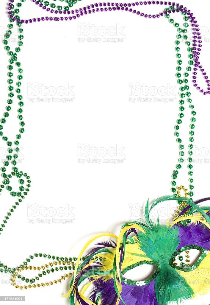 mardi gras borders stock photo more pictures of bead istock rh istockphoto com