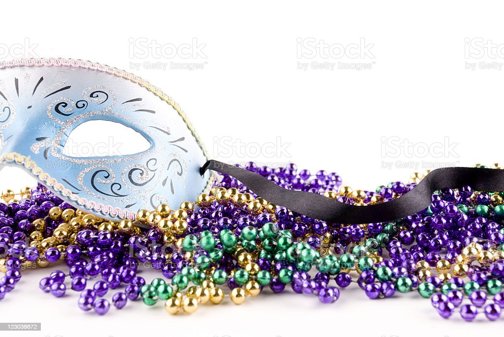 Mardi Gras Celebration royalty-free stock photo