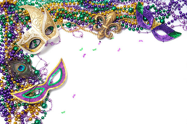 Mardi Gras Corner stock photo