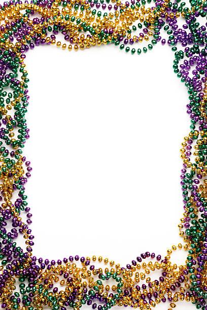 mardi gras frame - mardi gras borders silhouette stock photos and pictures