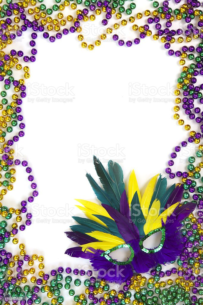Mardi Gras Frame Stock Photo & More Pictures of Backgrounds | iStock