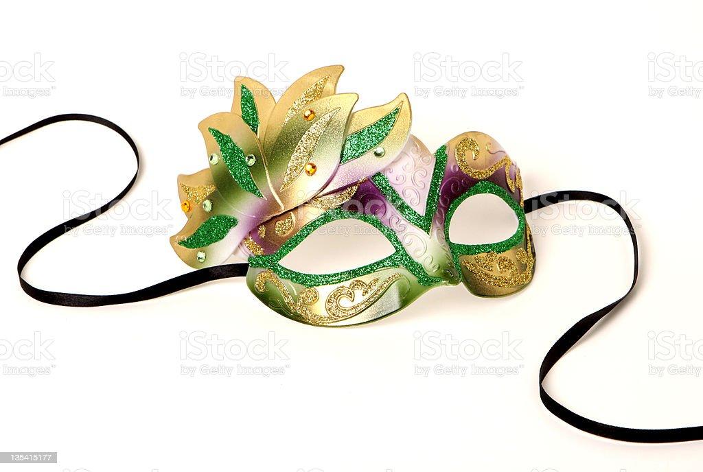 Mardi Gras Mask royalty-free stock photo