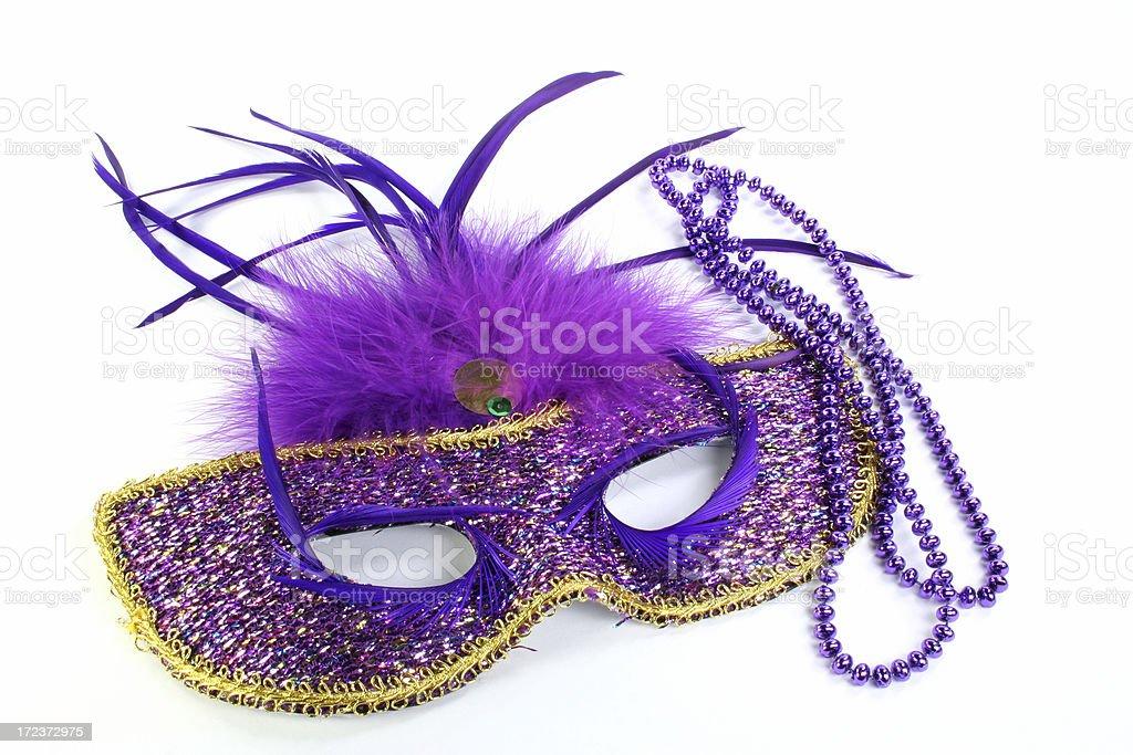 mardi gras mask - Royalty-free Bead Stock Photo