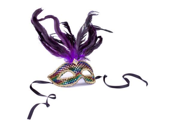 máscaras de mardi gras - mardi gras - fotografias e filmes do acervo