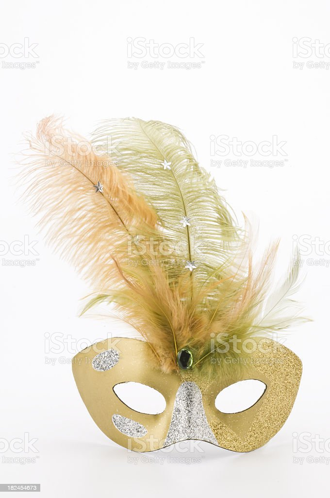 Mardi Gras Mask royalty-free stock photo