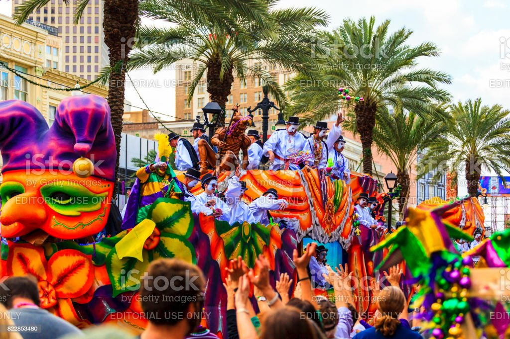 Mardi Gras  -  New Orleans USA stock photo