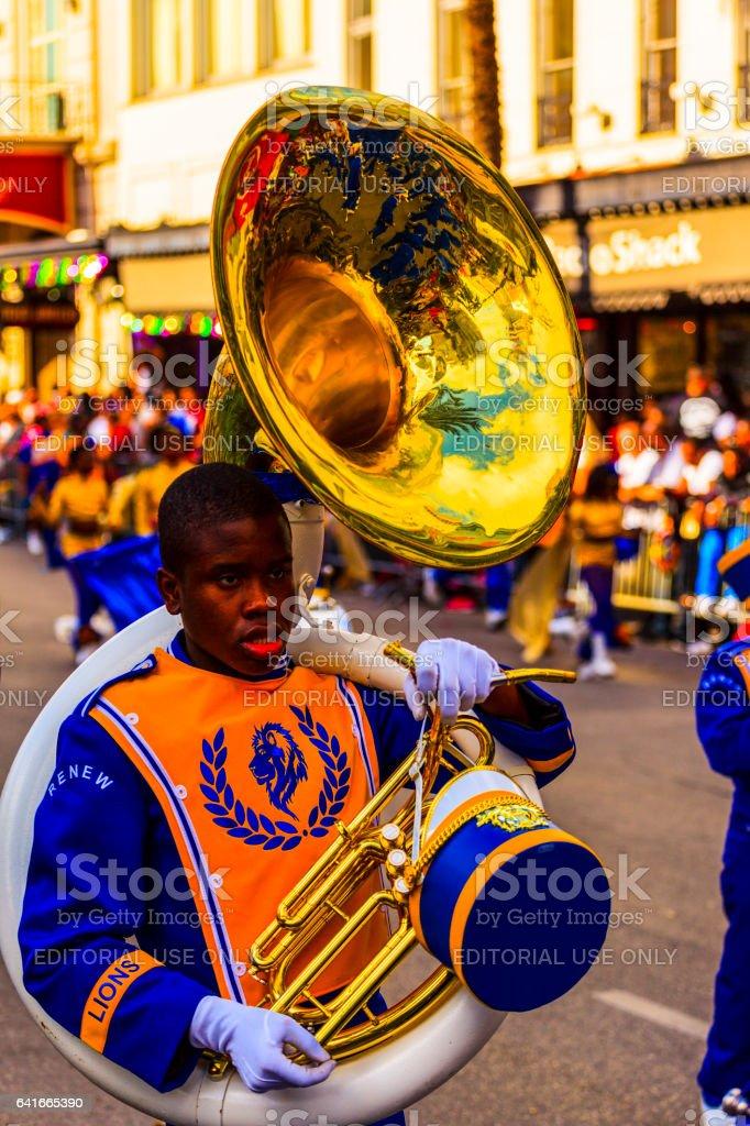 Mardi Gras parades  -  New Orleans stock photo