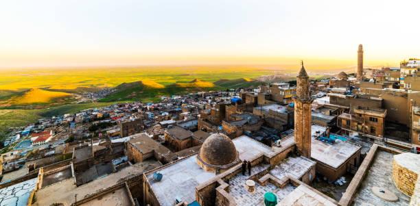 Türkiye 'de Mardin şehri. stok fotoğrafı
