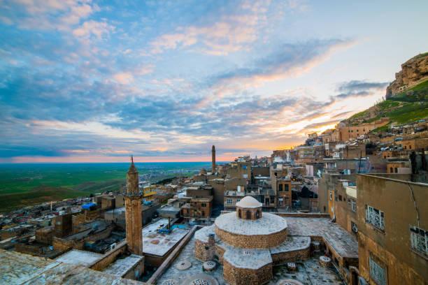 Mardin şehir Türkiye stok fotoğrafı