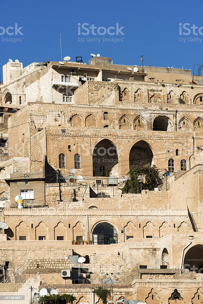 Mardin City View stock photo