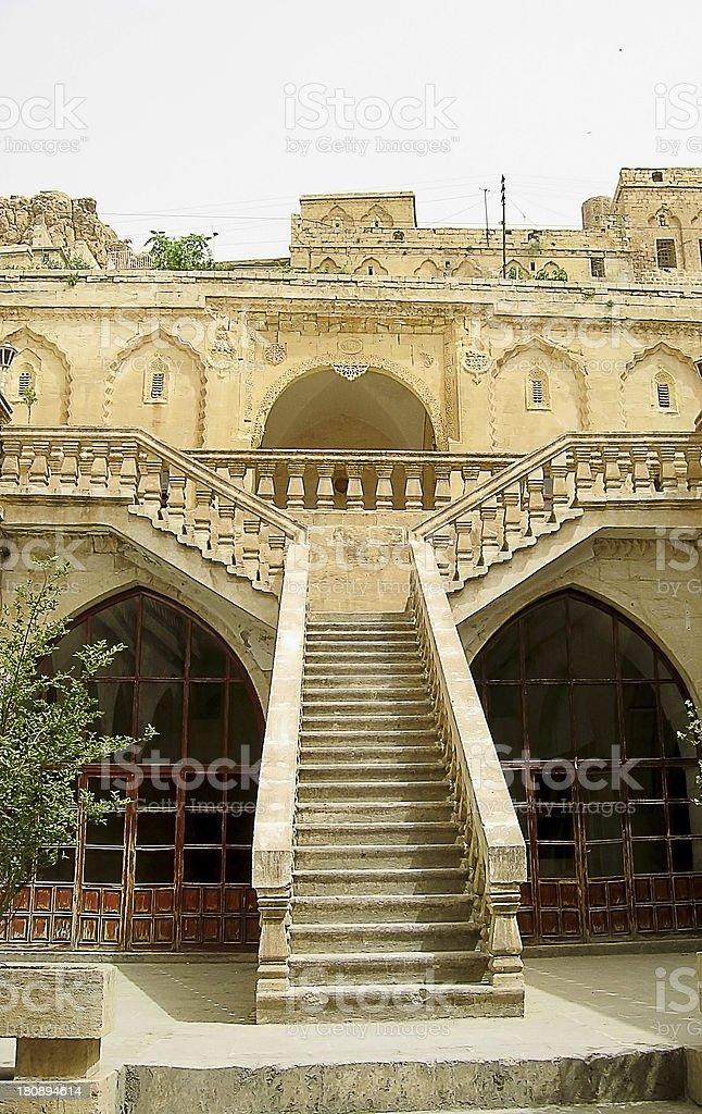 Mardin old houses stock photo