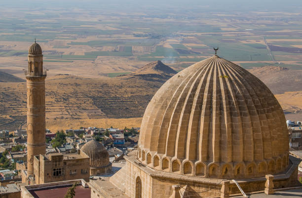 Mardin The ancient city of Mardin is famous for its interesting architectural structures. anatolia stock pictures, royalty-free photos & images
