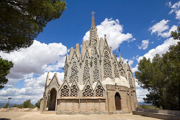 Mare de Deu de Montserrat sanctuary - foto de stock