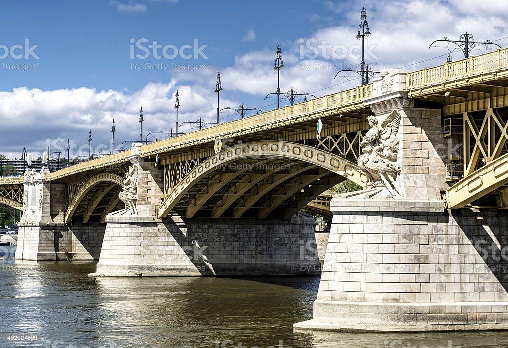 Margaret Bridge stock photo