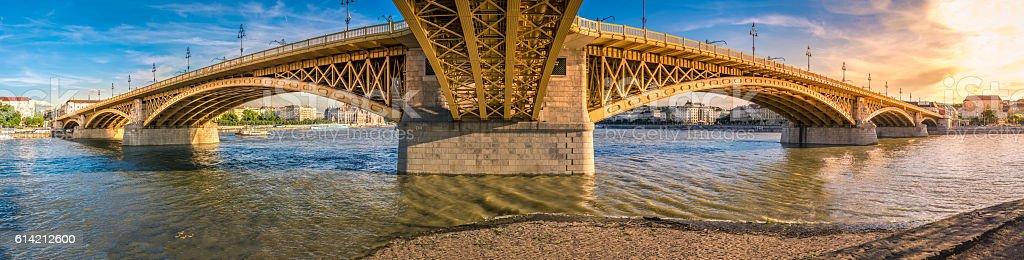 Margaret Island Bridge stock photo
