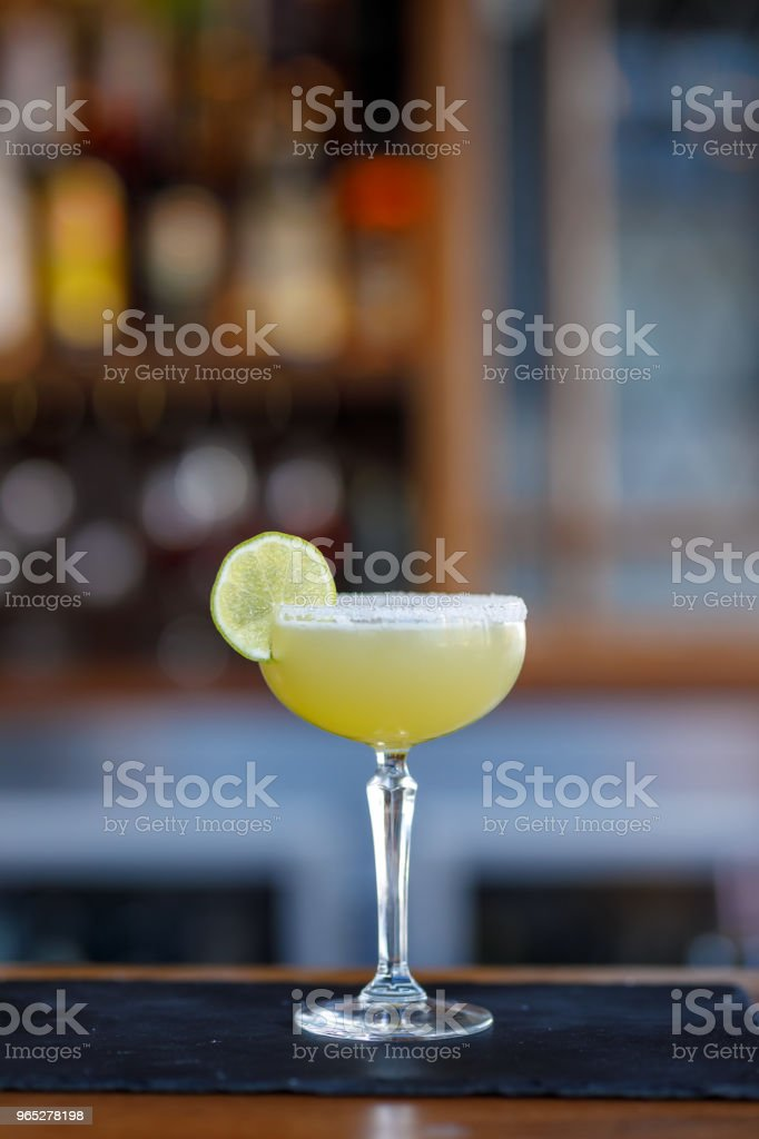 Margarita Cocktail zbiór zdjęć royalty-free