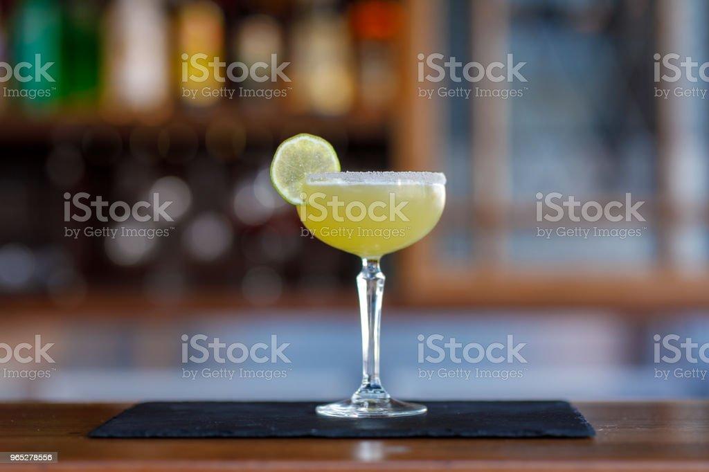 Margarita Cocktail zbiór zdjęć royalty-free