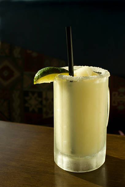 Margarita Frozen Drink. stock photo