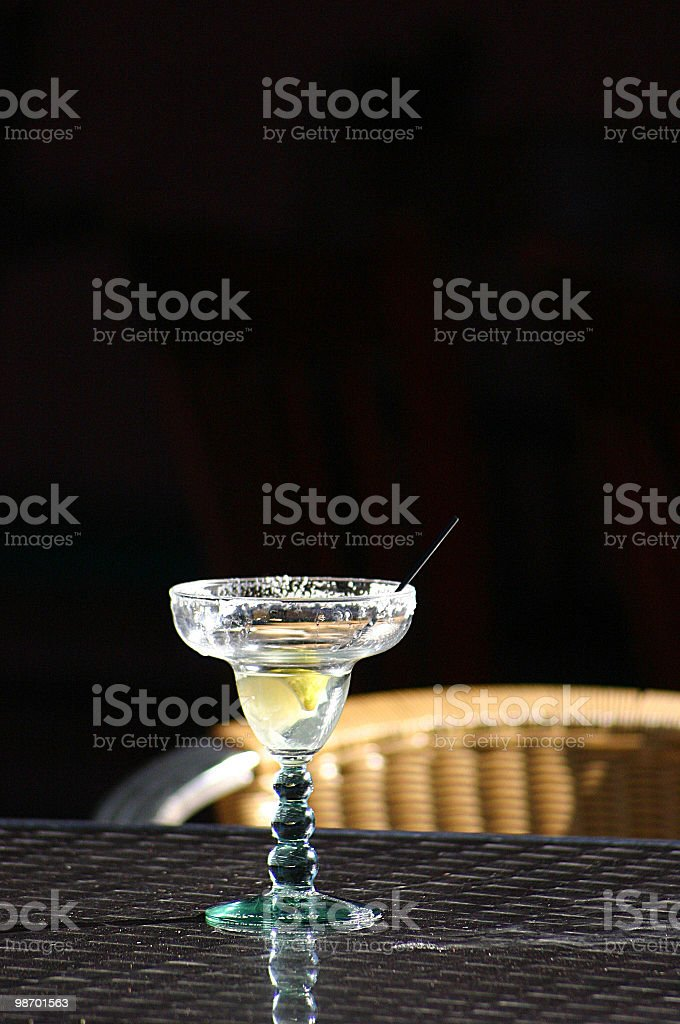 Bicchiere di margarita foto stock royalty-free