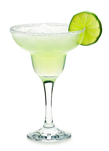 margarita in a glass - margarita drink stock photos and pictures