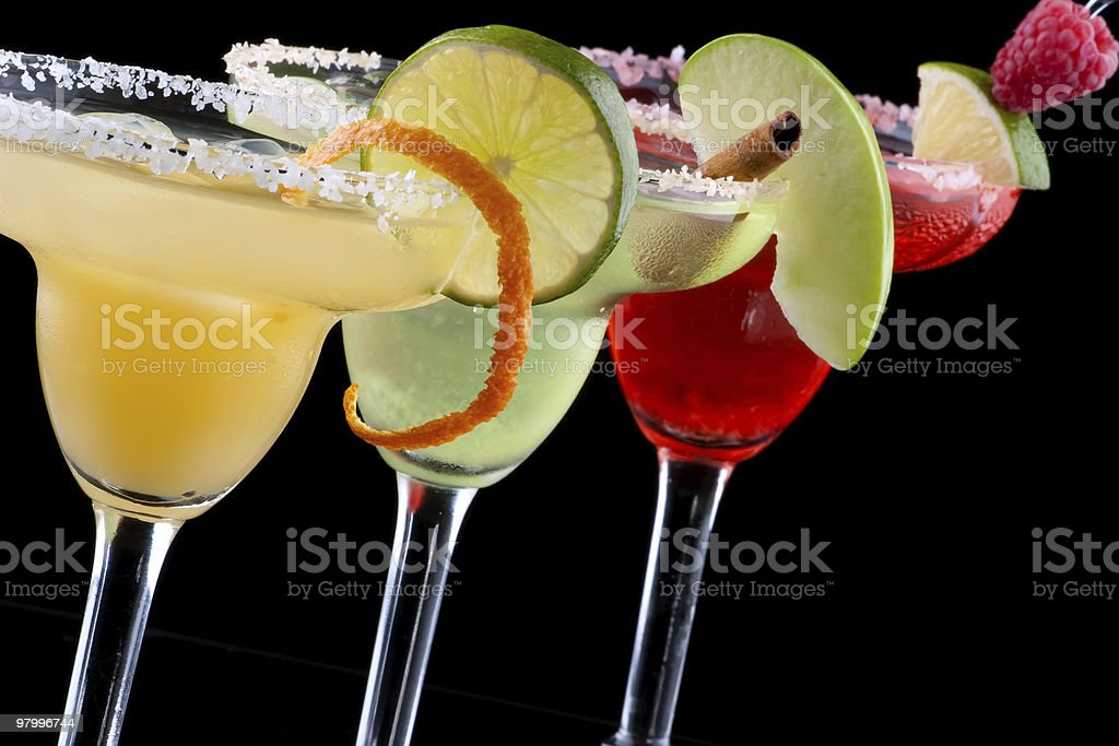 Margaritas  - Most popular cocktails series royalty free stockfoto