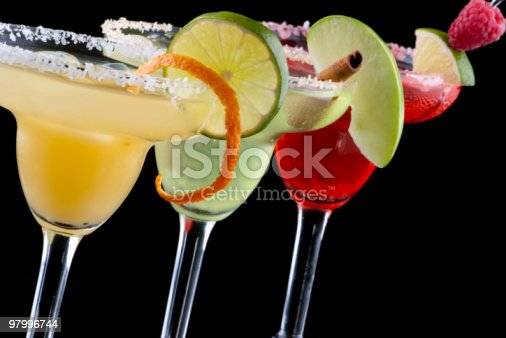 Margaritas Most Popular Cocktails Series Stock Photo & More Pictures of Alcohol
