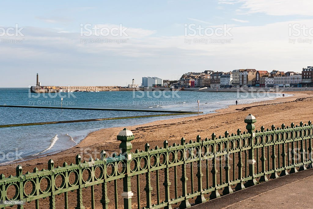 Margate Bay in Kent, South-east England, UK stock photo