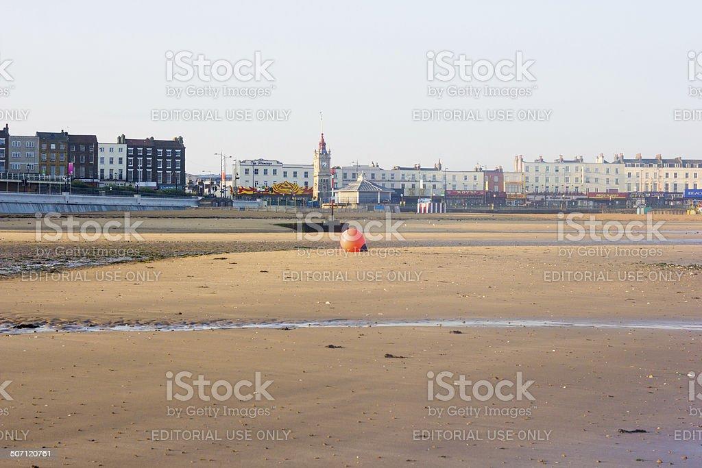 Margate Beach in Kent, England stock photo