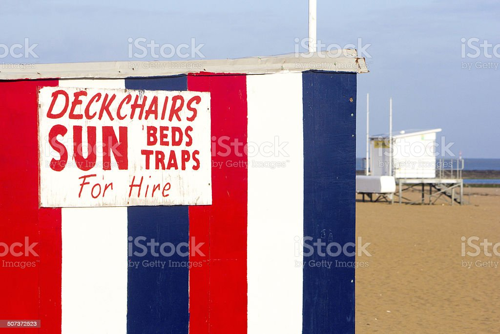 Margate Main Sands in Kent, England stock photo