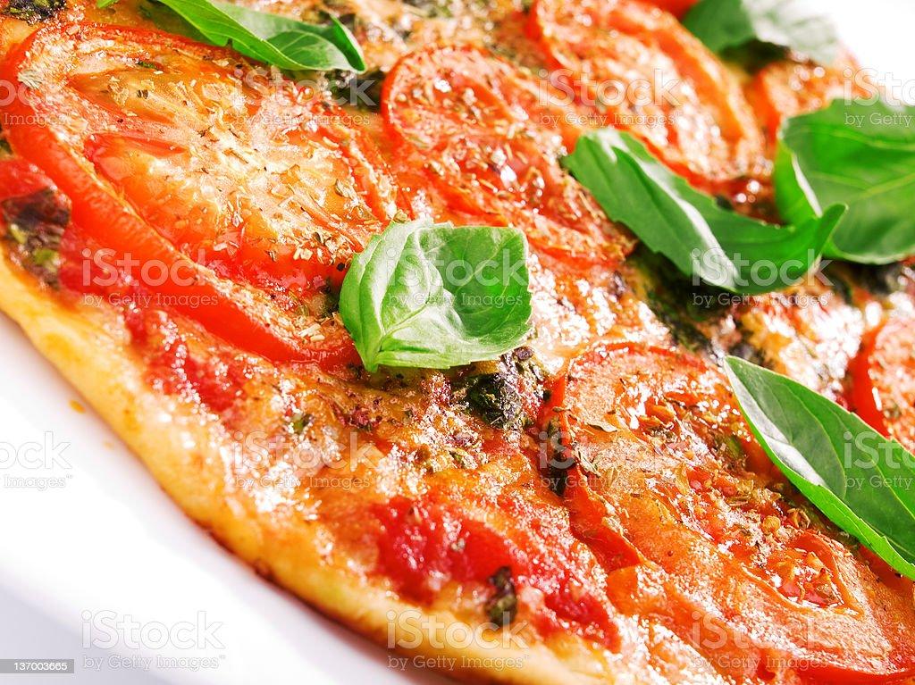 Margharita Pizza royalty-free stock photo