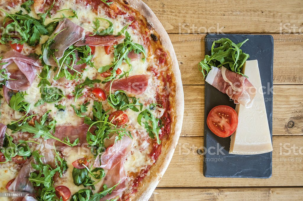 Margherita Pizza royalty-free stock photo