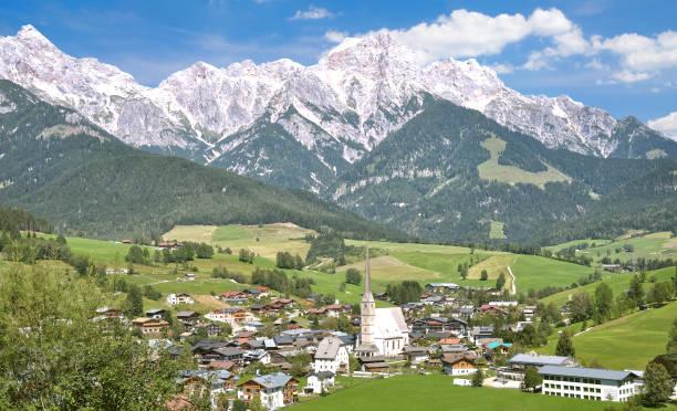 Maria Alm am Steinernen Meer,Salzburger Land,Austria – Foto