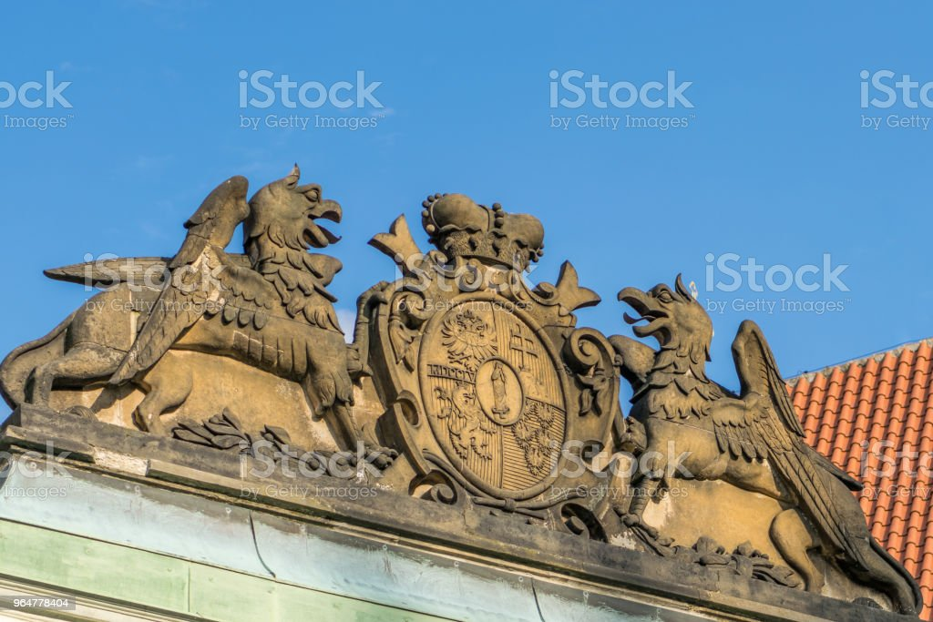 Maria Theresa Entrance royalty-free stock photo