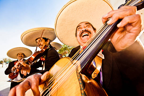 mariachi band - mexico stock photos and pictures