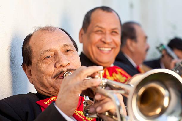 mariachi band - cinco de mayo stock photos and pictures