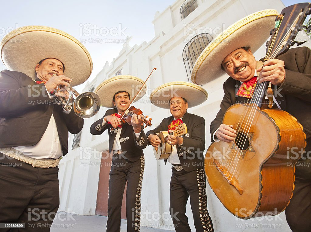 Mariachi Band royalty-free stock photo