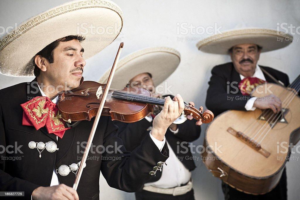Mariachi Band royalty-free stock photo