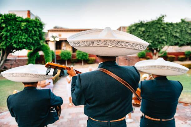 Mariachi Band Playing stock photo