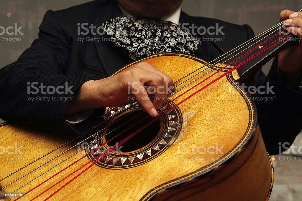 Mariachi Strings stock photo
