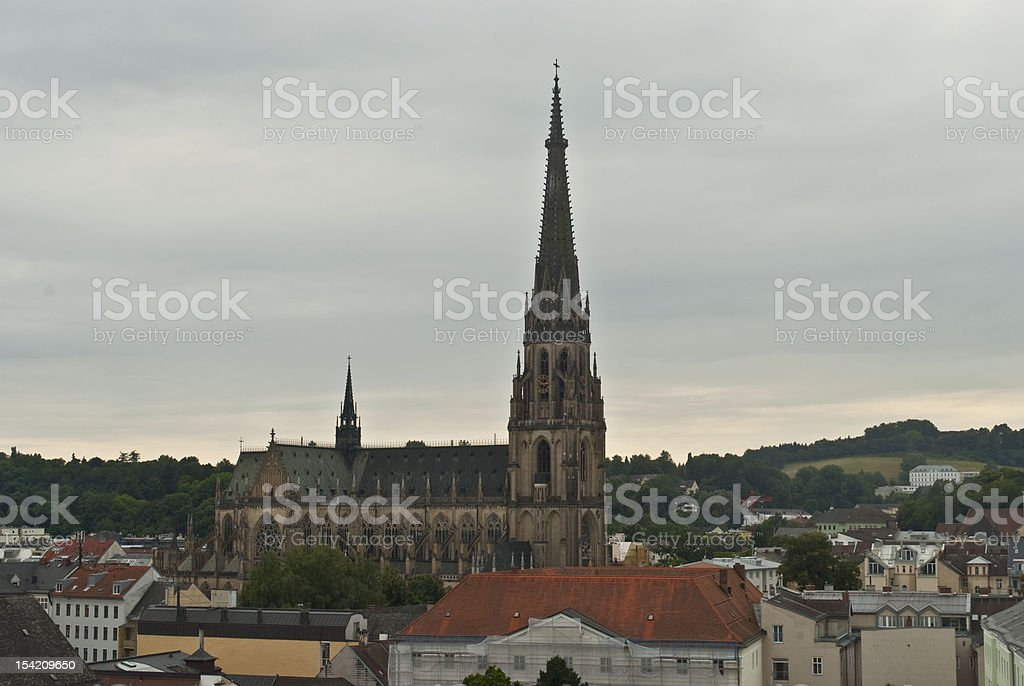 Mariae Empfaengnis Cathedral stock photo
