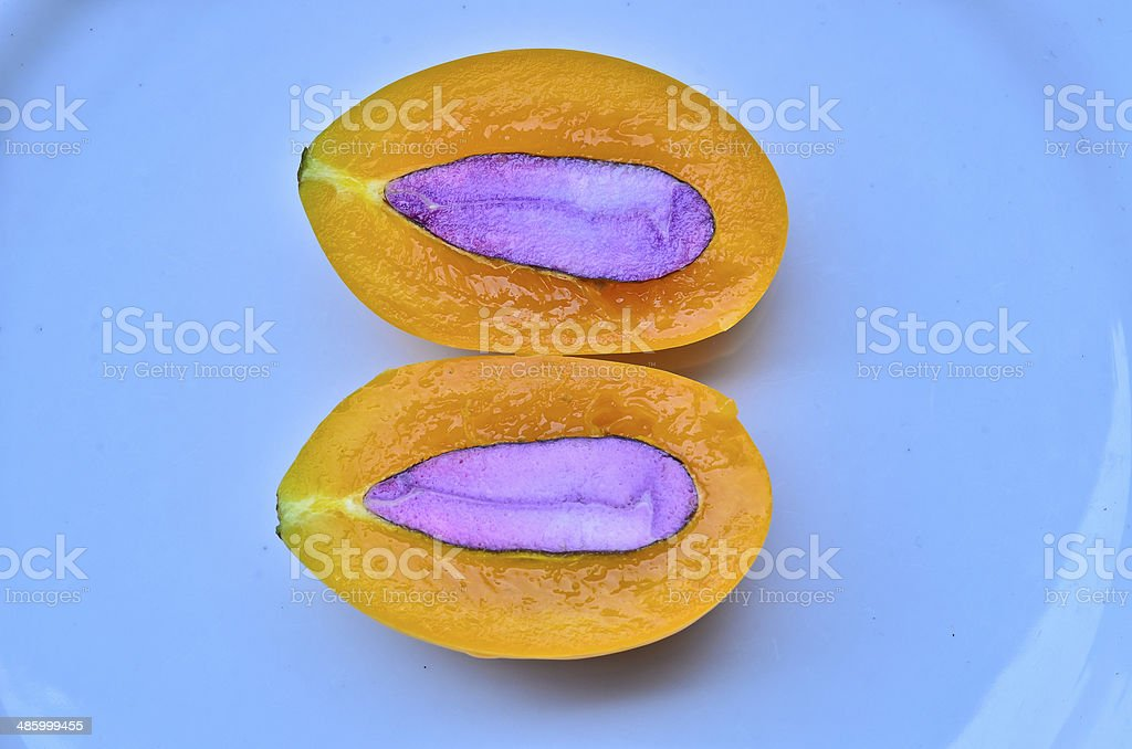 Marian Plum stock photo