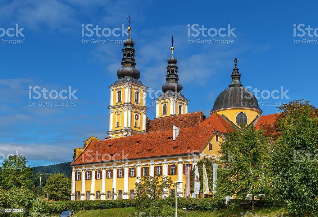 Mariatrost Basilica, Austria stock photo