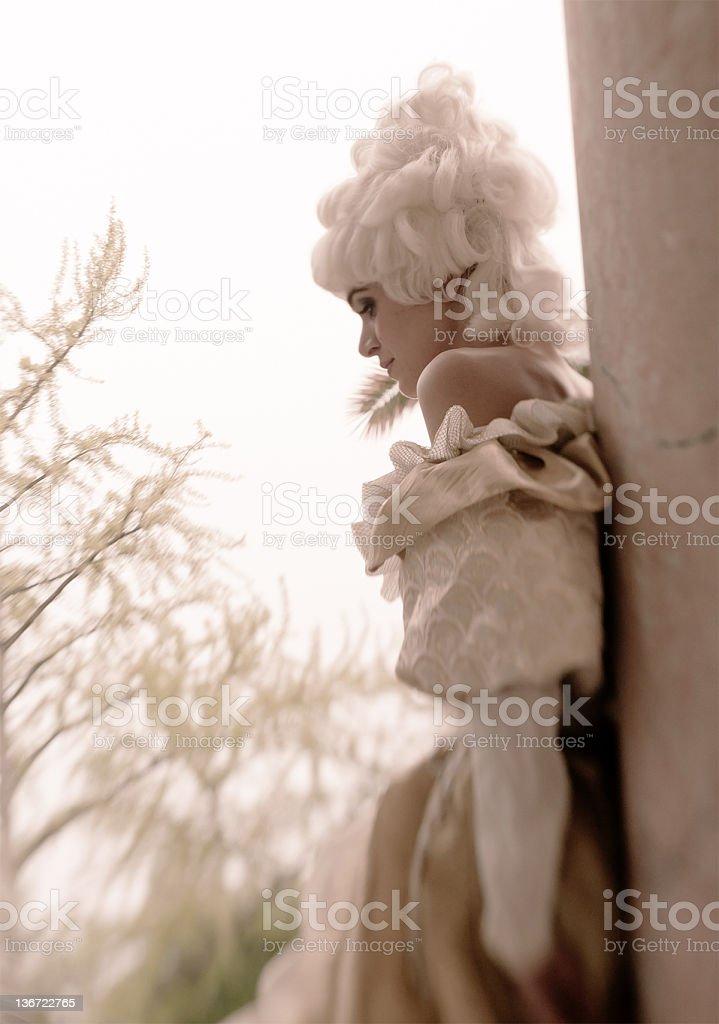 Marie Antoinette Portrait stock photo