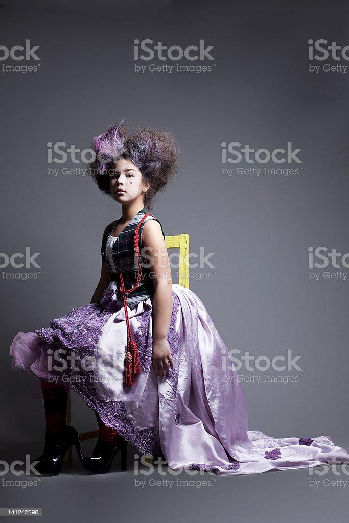 Marie Antoinette revisited stock photo