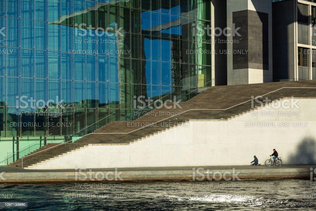 BERLIN - GERMANY - DCEMBER, 2018. Marie Elisabeth Lueders Haus.