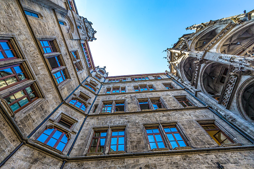 Marienplatz Courtyard, Munich, Germany